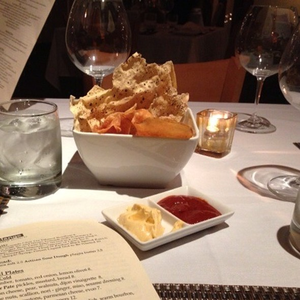 Crisps - Sea Change at Chez Melange, Redondo Beach, CA