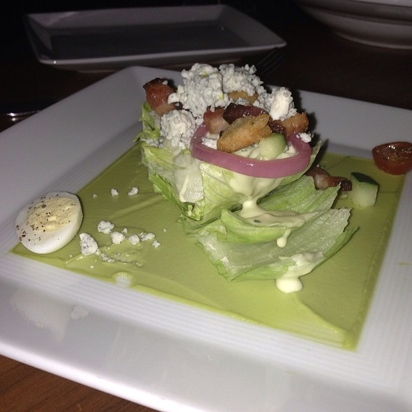 Wedge Salad - Bourbon Steak at The Fairmont Scottsdale Princess, Scottsdale, AZ