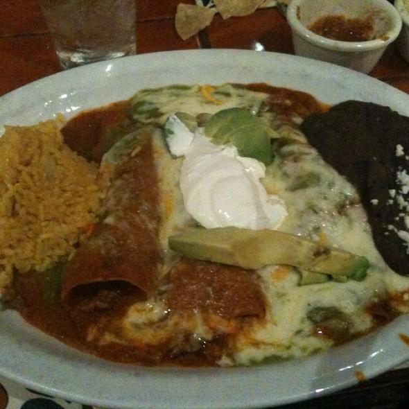 Pork Enchiladas Verdes - Ninfa's on Navigation, Houston, TX