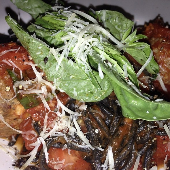 Black Spaghetti With Meatballs - Cafe Vico Ristorante, Fort Lauderdale, FL