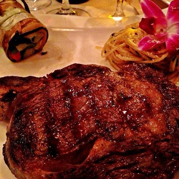 Rib Eye Steak  - Vigilucci's Seafood & Steakhouse, Carlsbad, CA