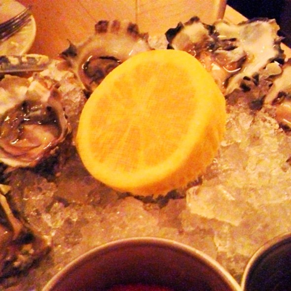 West Coast Oysters - The Mermaid Oyster Bar, New York, NY