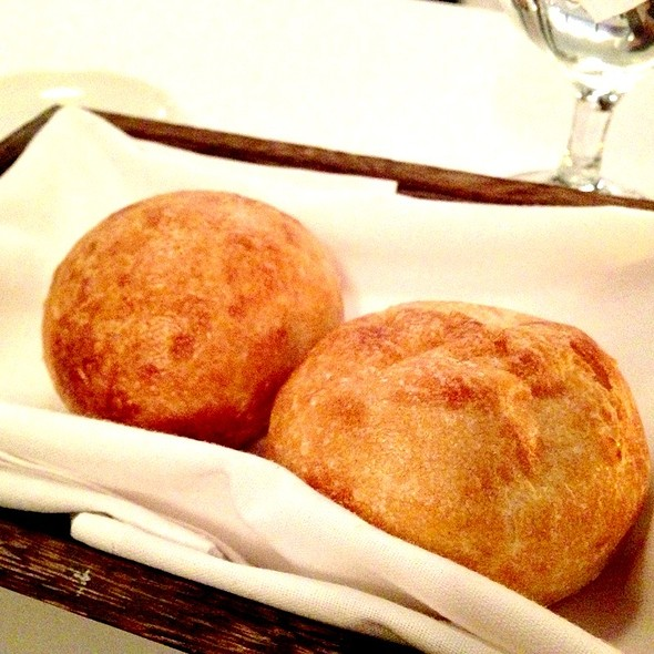 Complimentary Warm Rolls - Le Midi Bar & Restaurant, New York, NY