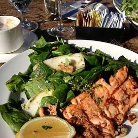 Salmon And Spinach Salad - Mon Ami Gabi - Las Vegas - Main Dining Room, Las Vegas, NV