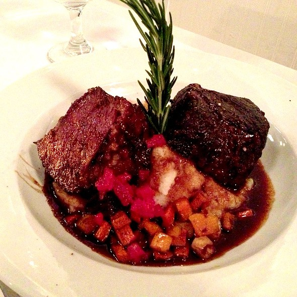 Braised Beef Short Ribs - Le Midi Bar & Restaurant, New York, NY