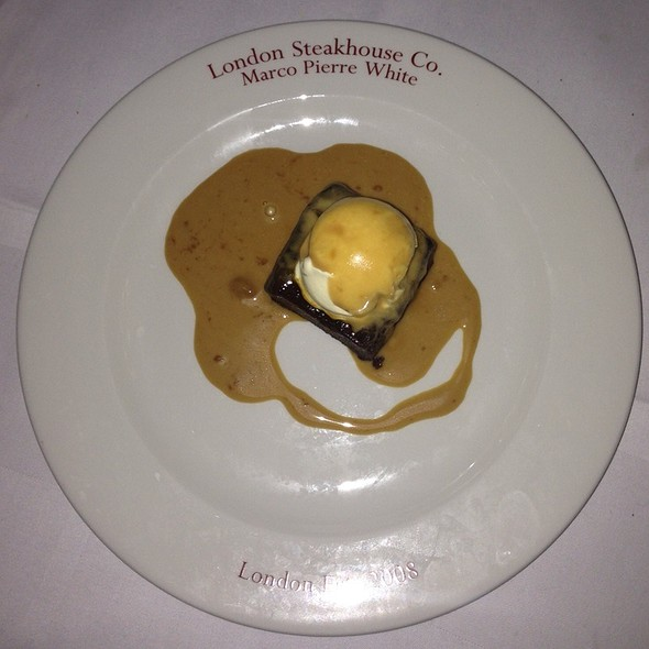 Sticky Toffee Pudding - London Steakhouse Co - City - Marco Pierre White, London