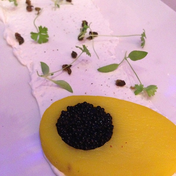 Caviar In A Yukon Gold Potato With Fried Capers And Creme Freche - Iridescence, Detroit, MI