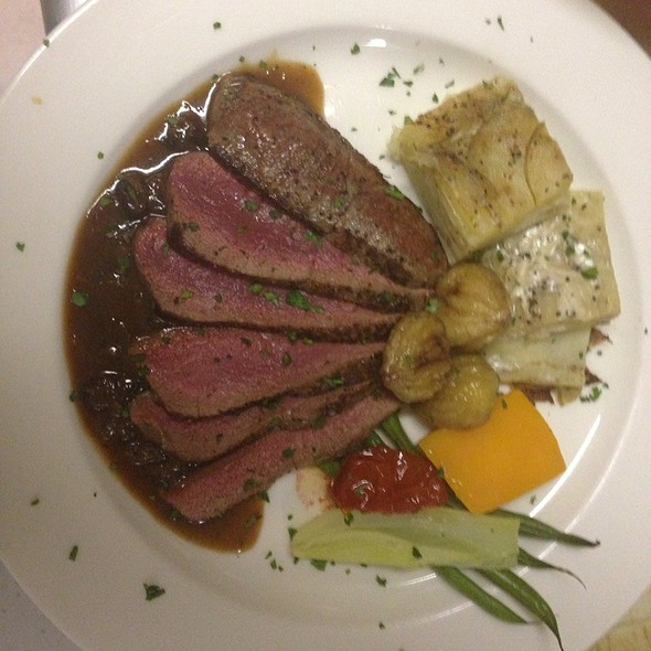 Pan Seared Venison W/ Candied Chestnuts - The Carversville Inn, Carversville, PA