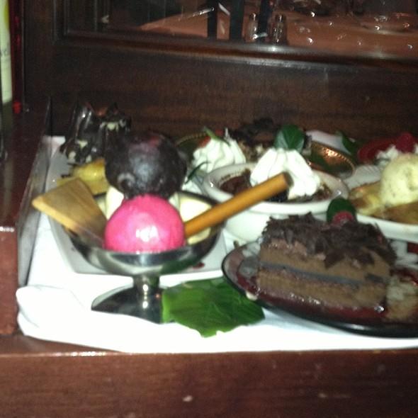 Chocolate dome dessert - Il Fornaio - Manhattan Beach, Manhattan Beach, CA