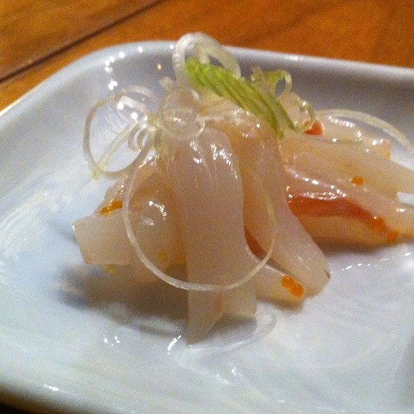 Pickled Bonito Tripe - Masu Sushi, Portland, OR