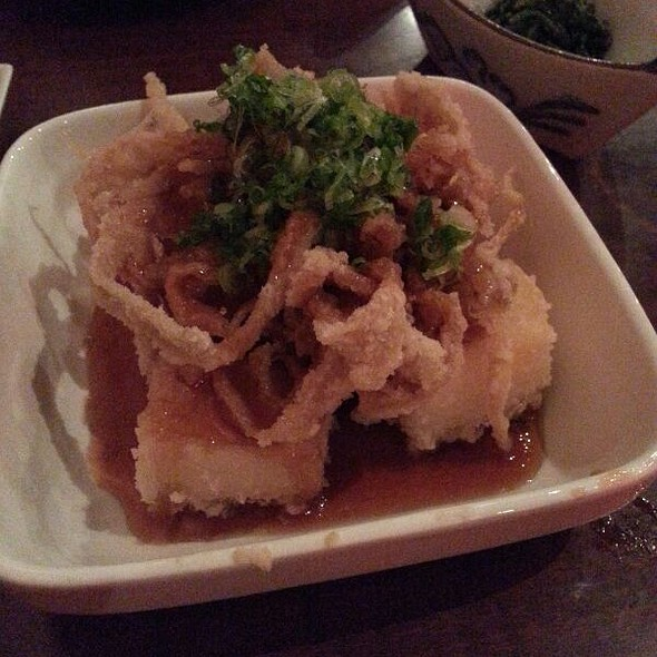 Agedashi Tofu - Kaname Izakaya, Seattle, WA