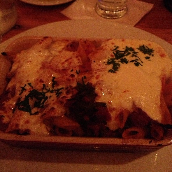 Baked Penne With Sweet Sausage  - Wild Olive