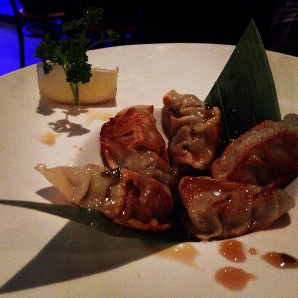 Kobe Beef Pot Stickers - The Blue Fish - Washington, Houston, TX
