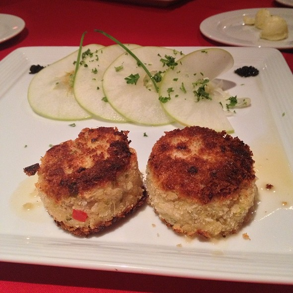 Crab Cakes - Manhattan Steak and Seafood, Orange, CA
