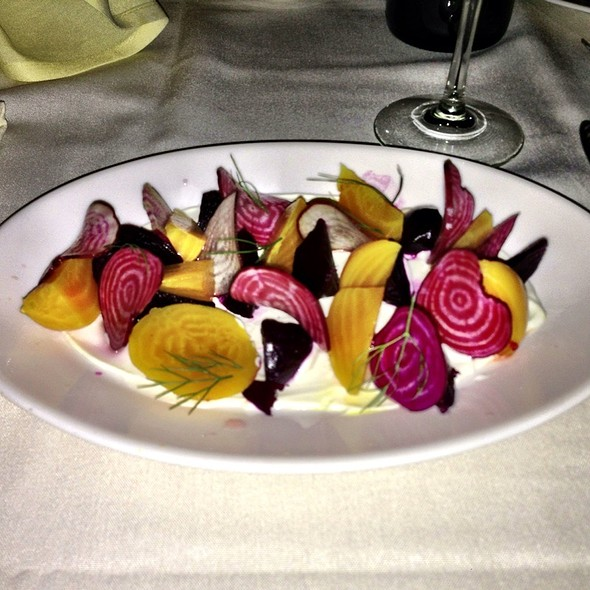 Big Island Goat Cheese & Beet Salad - Muse Restaurant, Charleston, SC