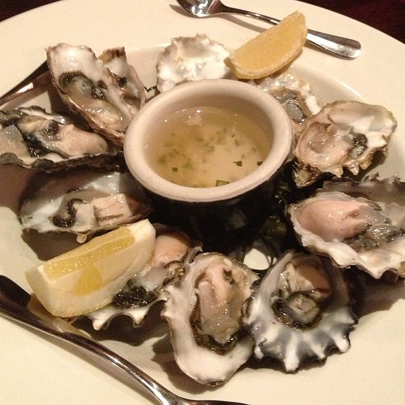 Puget Sound Oysters - Brick & Bottle, Corte Madera, CA