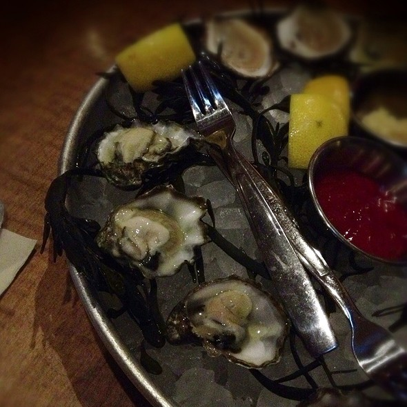 Kumamoto oysters - The Southern, Nashville, TN