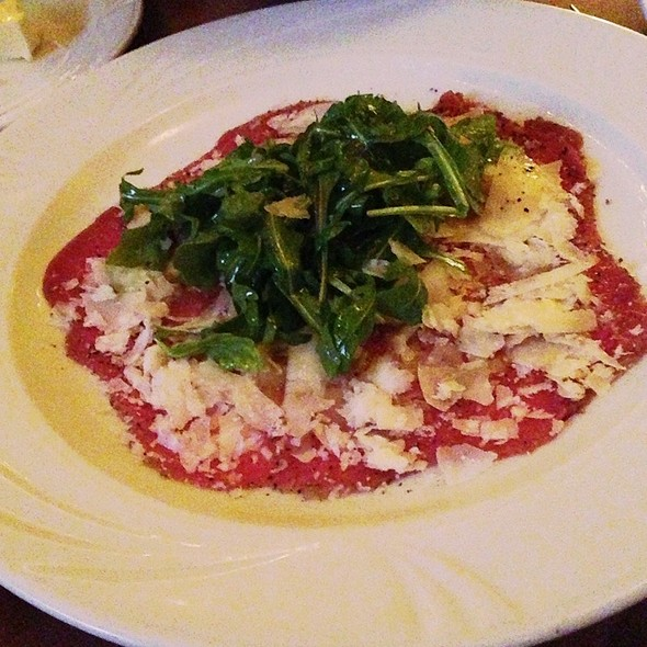carpaccio - Federico's Supper Club, Vancouver, BC