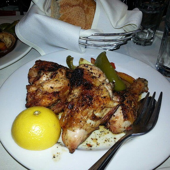 Roasted Greek Chicken - Pegasus Restaurant and Taverna, Chicago, IL