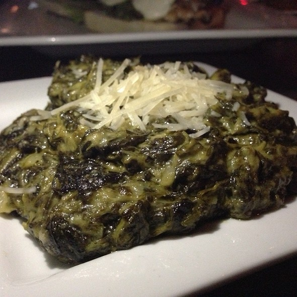 Creamed Spinach - Kenny's Wood Fired Grill, Dallas, TX