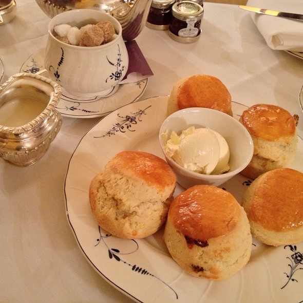 Scone With Jam For The Tea Service - The Goring Dining Room, London