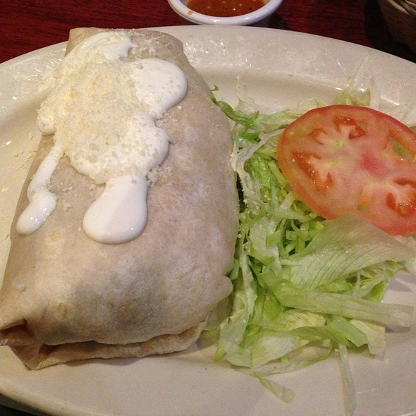 Grilled Chicken Burrito - Noche Mexicana, New York, NY