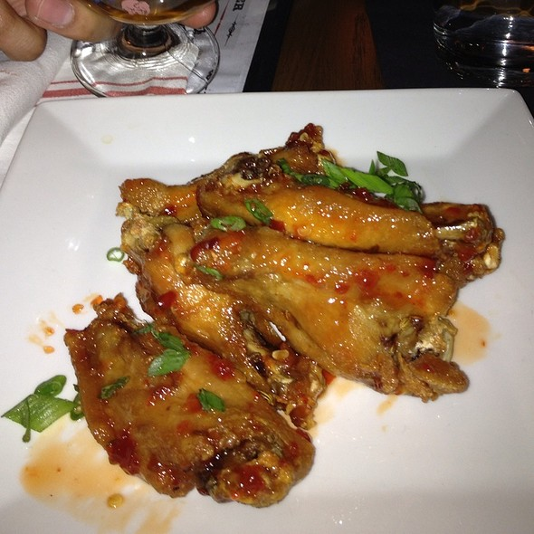 Chicken Wings Confit - PARK Restaurant & Bar, Cambridge, MA