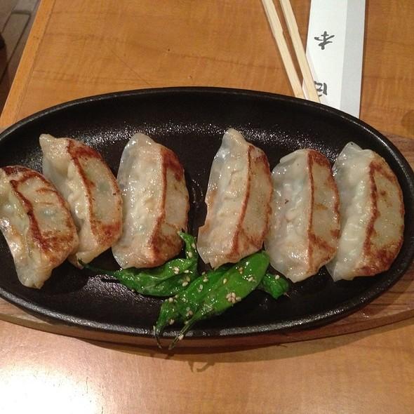 Kurobuta Gyoza - Restaurant Soba Nippon, New York, NY