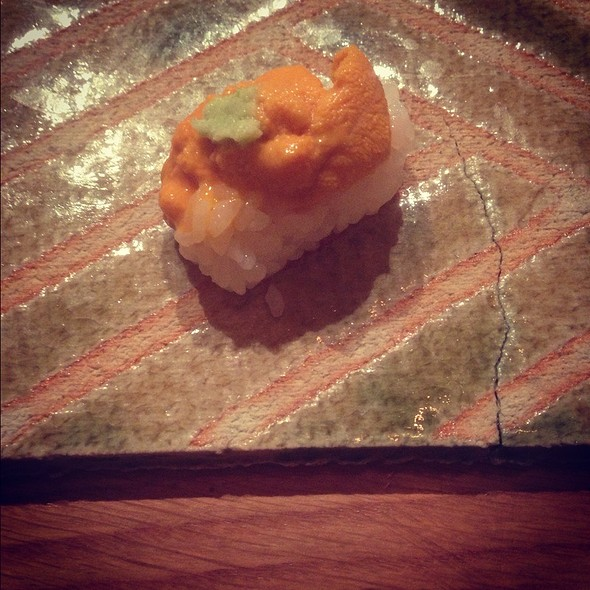 Uni Sushi - brushstroke, New York, NY