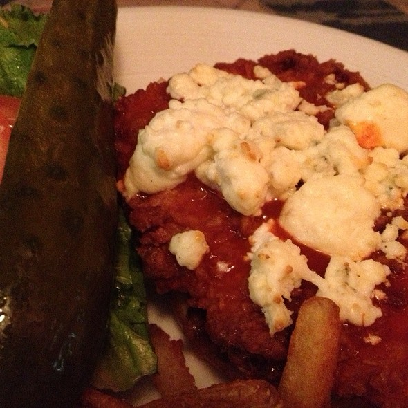 Buffalo Chicken & Bleu Cheese Sandwich - Rams Head Tavern - Annapolis, Annapolis, MD