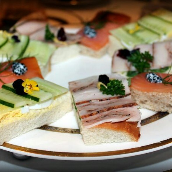 Savory Sandwiches - Le Montréalais - Fairmont Le Reine Elizabeth, Montreal, QC