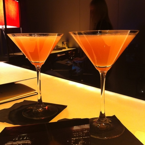 Armani Martini - Armani Ristorante 5th Avenue, New York, NY