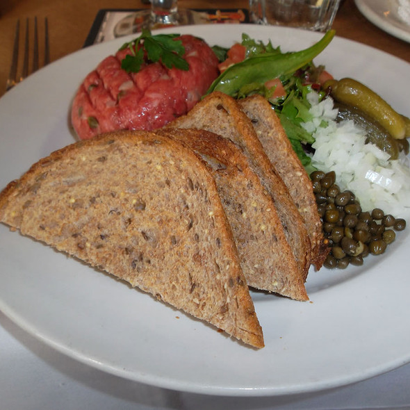 steak tartare - Markt, New York, NY