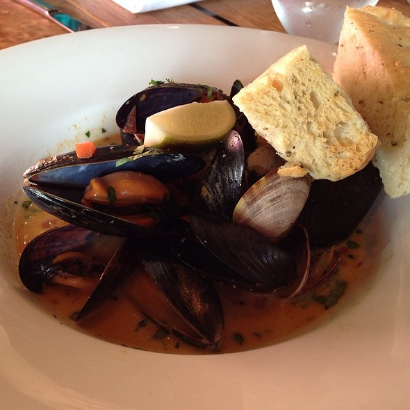 Mussels and Clams - The Beach House, West Vancouver, BC