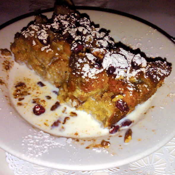 Bread Pudding - Polaris Grill, Columbus, OH