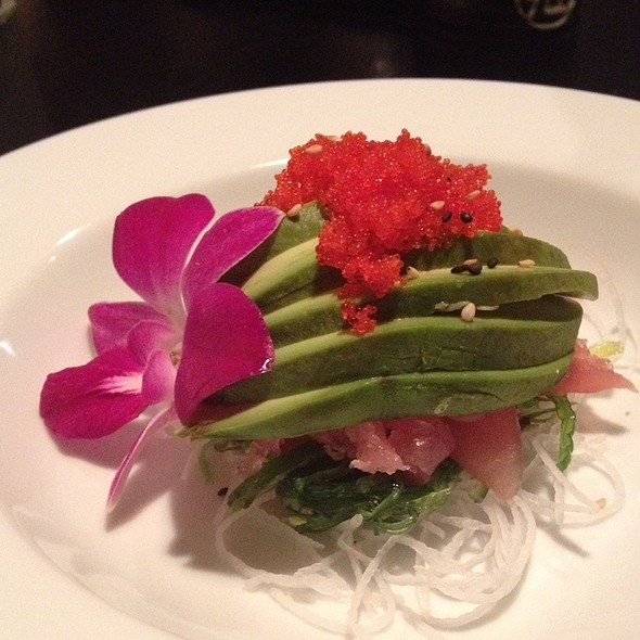 Tuna and Avocado Salad - Pacific Fusion Sushi & Thai, Ponte Vedra Beach, FL