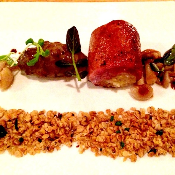 Quail With Bone Marrow, Sunchokes, Roasted Oats And Beech Mushrooms - Piccolo, Minneapolis, MN
