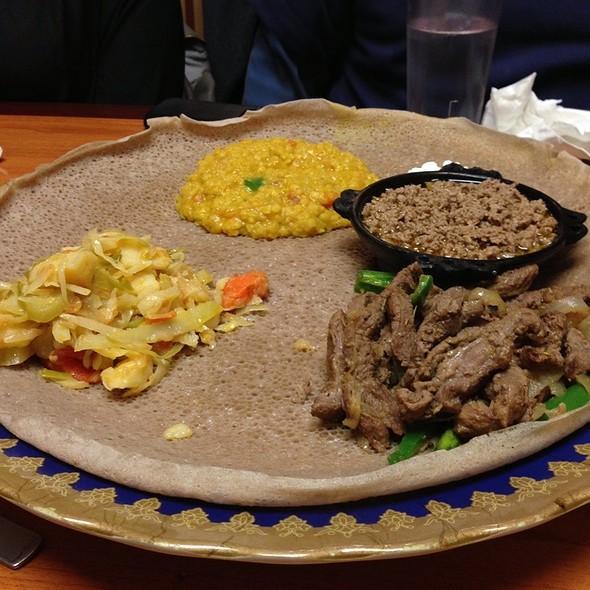 Combo #4 - Gatur's Ethiopian Cuisine, Buffalo, NY