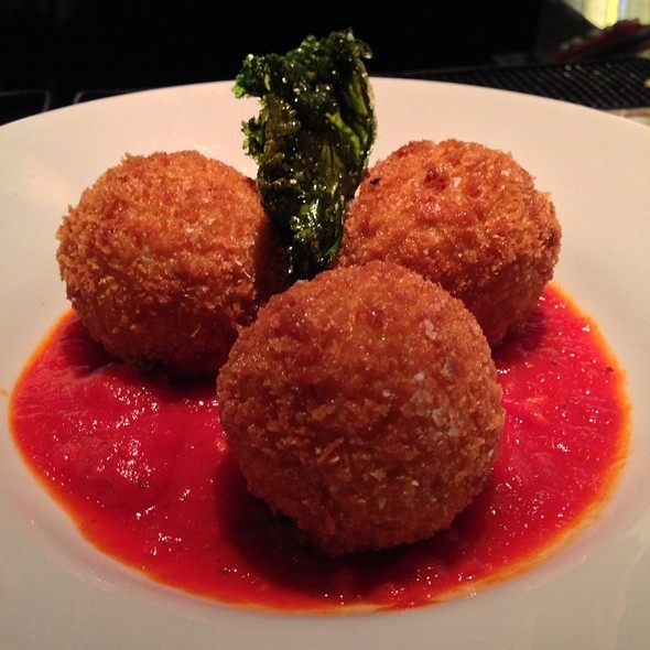 Mozzarella-Stuffed Risotto Balls - Betty, Seattle, WA
