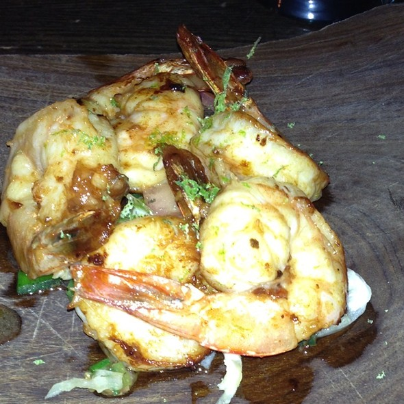 Spicy Garlic Shrimp W/ Lime Zest - a casa fox, New York, NY