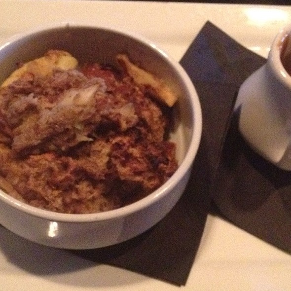 Apple Bread Pudding With Caramel - Anthem, Boston, MA