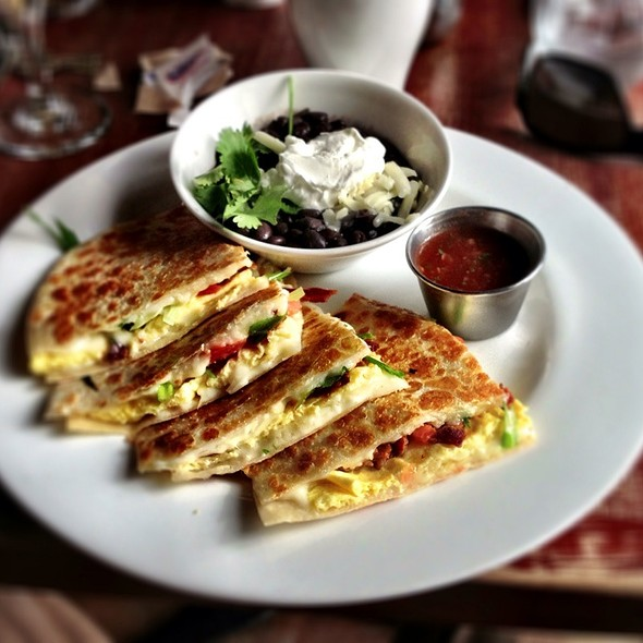Breakfast Quesadilla - Isabel's Cantina, San Diego, CA