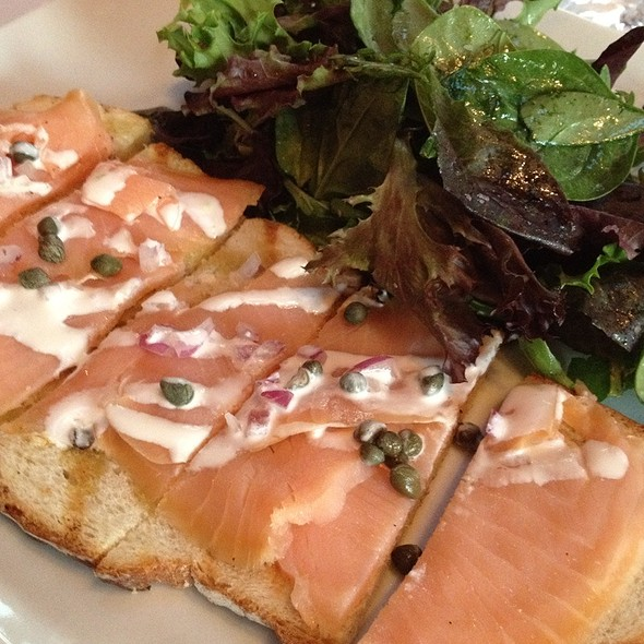 Smoked Salmon Tartine - Sips Bistro and Bar, Phoenixville, PA