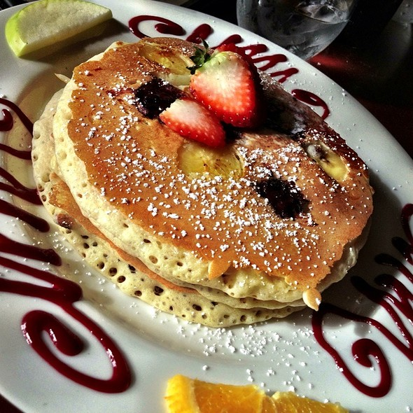 Blackberry Banana Pancakes - Isabel's Cantina, San Diego, CA