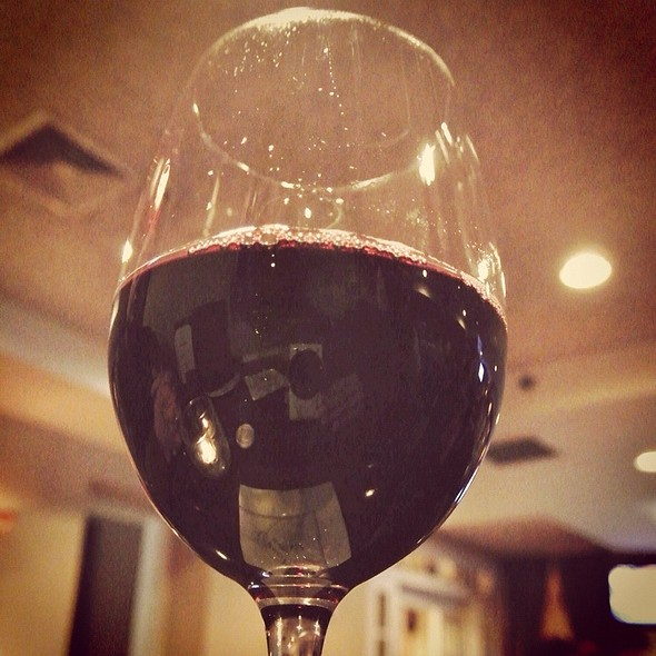 Red Wine - Creed's Seafood & Steaks, King of Prussia, PA