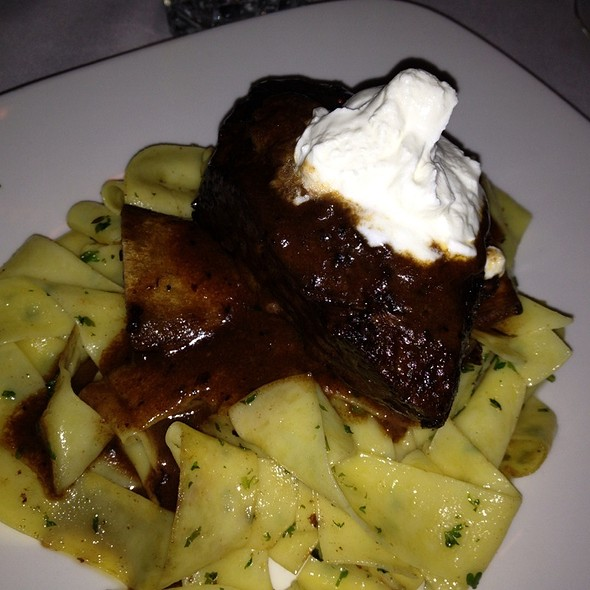 Braised Beef Short Rib Stroganoff - Morton's The Steakhouse - Hackensack, Hackensack, NJ