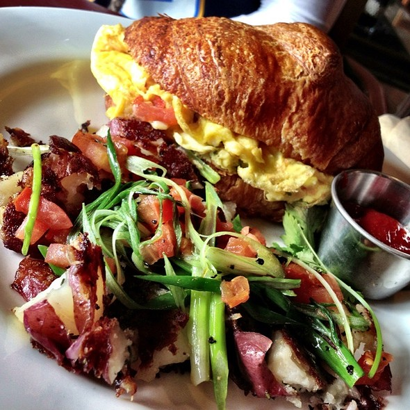 Croissant Breakfast Sandwhich - Isabel's Cantina, San Diego, CA