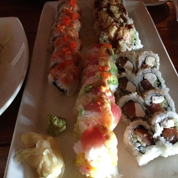 Happy Hour Sushi Rolls - Kona Grill - Scottsdale, Scottsdale, AZ