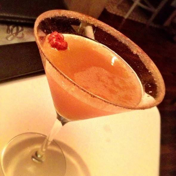 Smashing Pumpkin Martini - Grant Grill, San Diego, CA