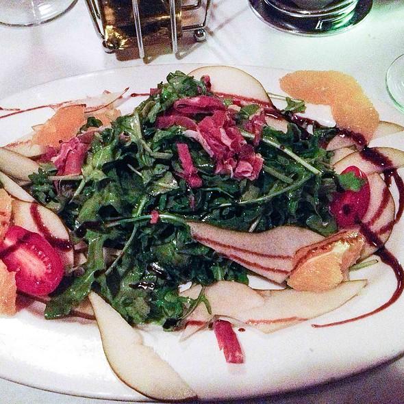 Arugula, Pear, Orange and Prosciutto Salad - Monica's Trattoria, Boston, MA